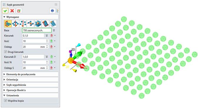 ZW3D CAD/CAM 2019 szyk geometrii