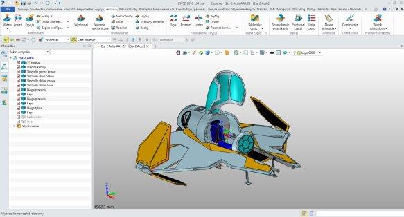 Wydajne modelowanie i złożenia w programie do projektowania 3D
