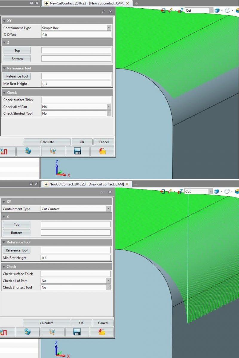 Operacje wykańczające CAM w ZW3D CAD/CAM 2016