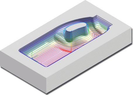 ZW3D CAD CAM- obróbka wykańczająca Offset 3D