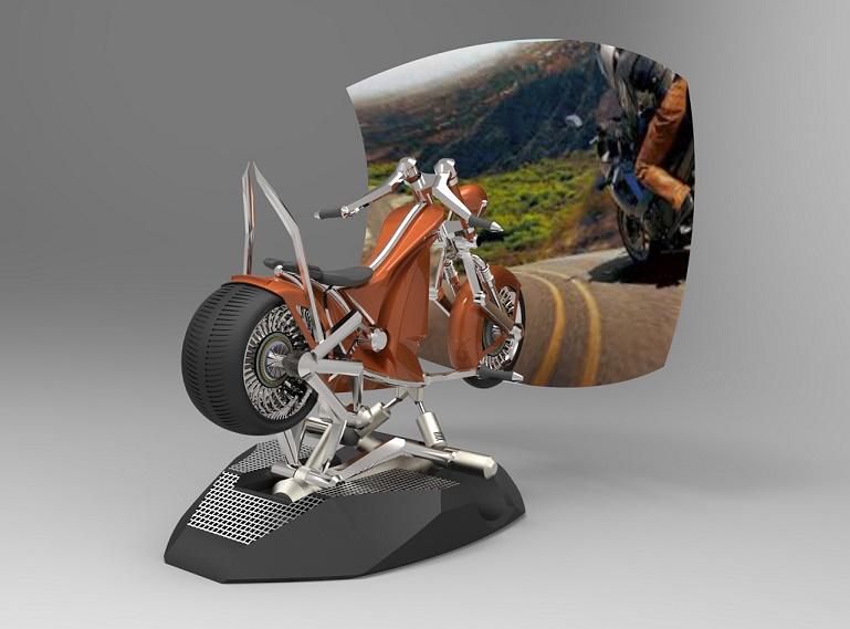 Mały motor zaprojektowany w ZW3D