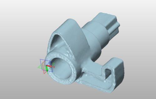 Zmiana orientacji skanu ZW3D
