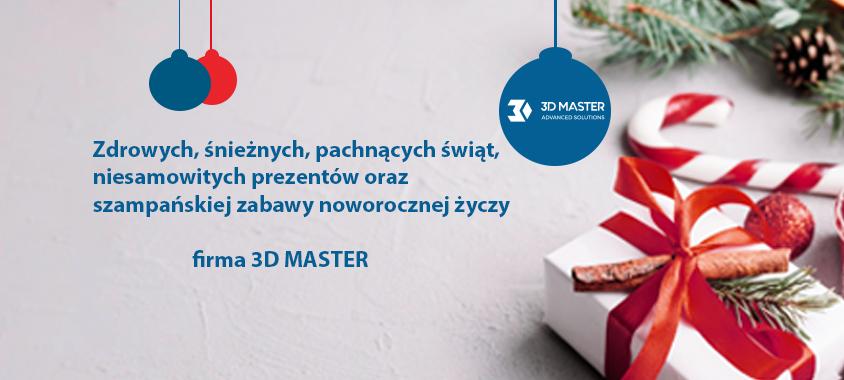 3D MASTER życzenia świąteczne